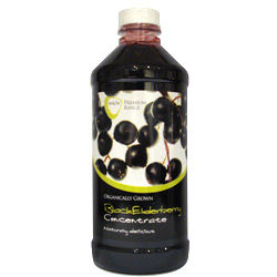 Bodytec 100% Pure Organic Black Elderberry Concentrate (500ml)