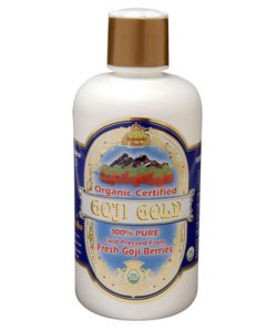 100% Pure Organic Goji Gold Juice (946ml)